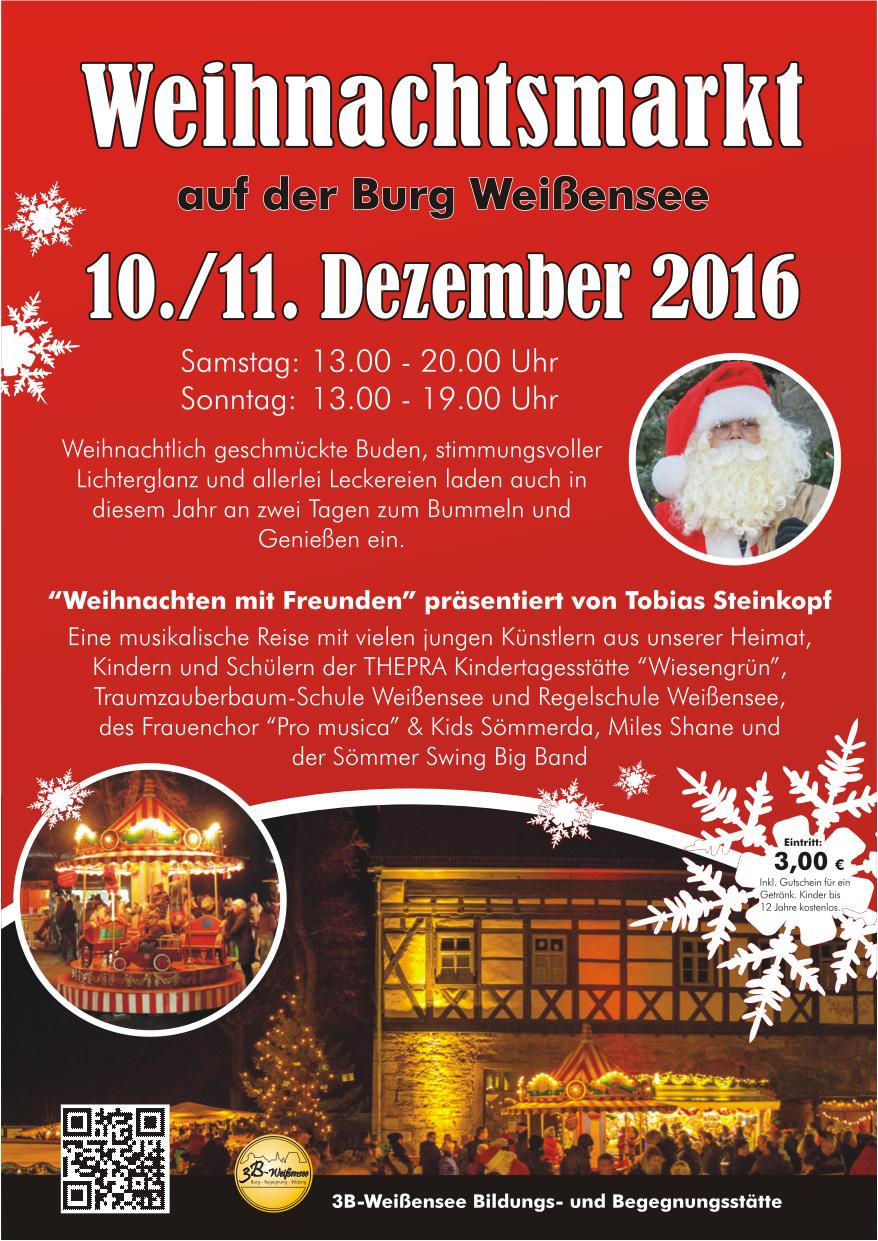Weihnachtsmarkt Weißensee 2016